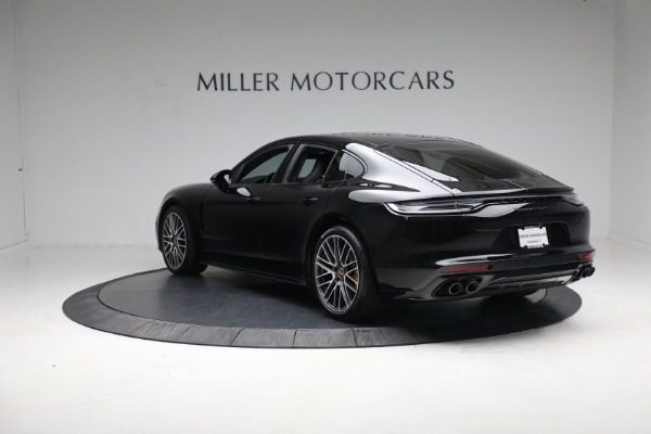 Used 2021 Porsche Panamera Turbo S for sale Call for price at Alfa Romeo of Greenwich in Greenwich CT 06830 4