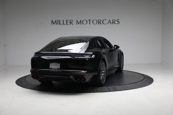 Used 2021 Porsche Panamera Turbo S for sale Call for price at Alfa Romeo of Greenwich in Greenwich CT 06830 6