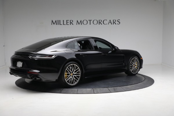 Used 2021 Porsche Panamera Turbo S for sale Call for price at Alfa Romeo of Greenwich in Greenwich CT 06830 7