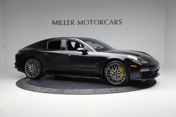 Used 2021 Porsche Panamera Turbo S for sale Call for price at Alfa Romeo of Greenwich in Greenwich CT 06830 9