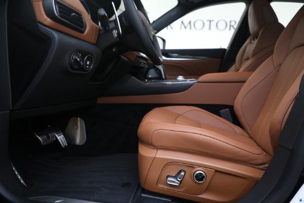 New 2021 Maserati Levante S GranSport for sale Call for price at Alfa Romeo of Greenwich in Greenwich CT 06830 14