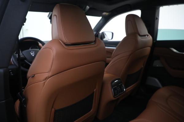 New 2021 Maserati Levante S GranSport for sale Call for price at Alfa Romeo of Greenwich in Greenwich CT 06830 20