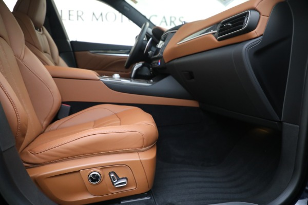 New 2021 Maserati Levante S GranSport for sale Call for price at Alfa Romeo of Greenwich in Greenwich CT 06830 22