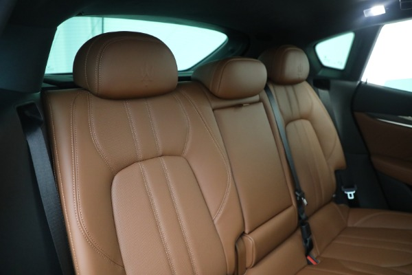 New 2021 Maserati Levante S GranSport for sale Call for price at Alfa Romeo of Greenwich in Greenwich CT 06830 24