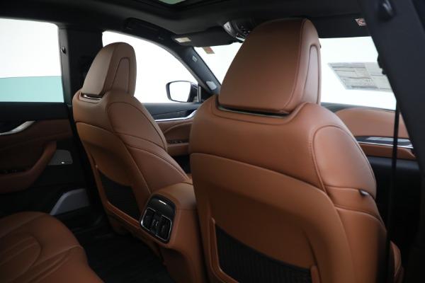 New 2021 Maserati Levante S GranSport for sale Call for price at Alfa Romeo of Greenwich in Greenwich CT 06830 26