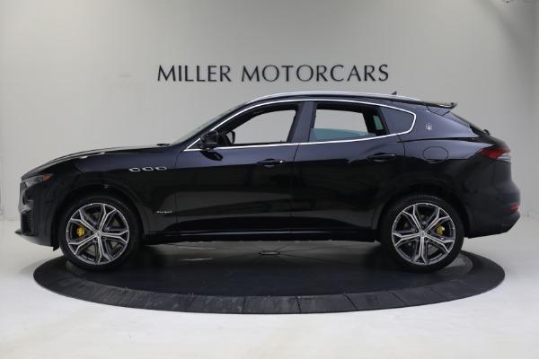 New 2021 Maserati Levante S GranSport for sale Call for price at Alfa Romeo of Greenwich in Greenwich CT 06830 3