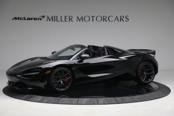 New 2021 McLaren 720S Spider for sale $374,120 at Alfa Romeo of Greenwich in Greenwich CT 06830 2