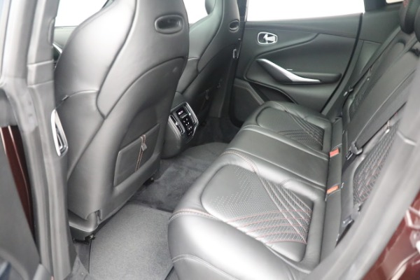 New 2021 Aston Martin DBX for sale $196,386 at Alfa Romeo of Greenwich in Greenwich CT 06830 21