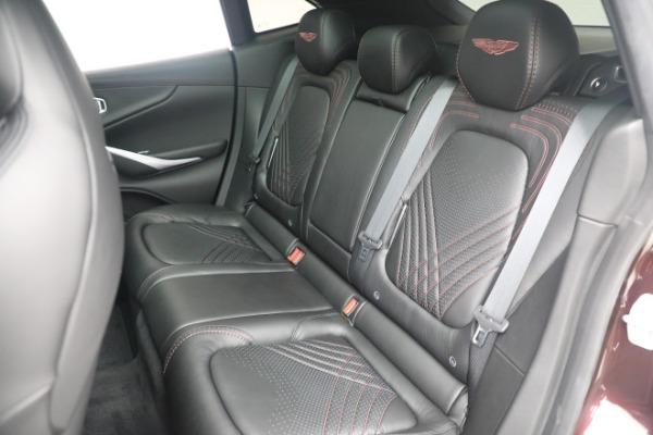 New 2021 Aston Martin DBX for sale $196,386 at Alfa Romeo of Greenwich in Greenwich CT 06830 22