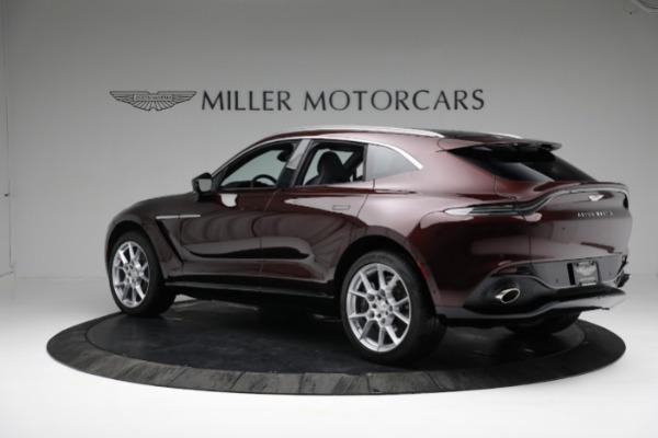 New 2021 Aston Martin DBX for sale $196,386 at Alfa Romeo of Greenwich in Greenwich CT 06830 3