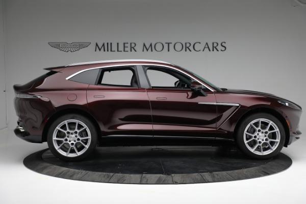 New 2021 Aston Martin DBX for sale $196,386 at Alfa Romeo of Greenwich in Greenwich CT 06830 8