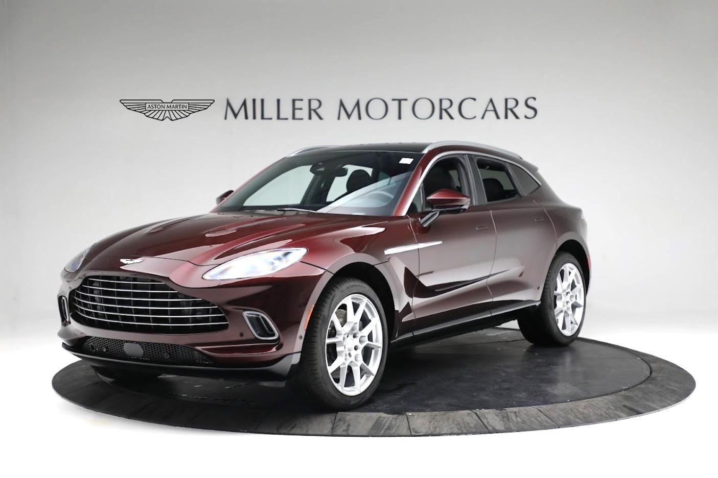 New 2021 Aston Martin DBX for sale $196,386 at Alfa Romeo of Greenwich in Greenwich CT 06830 1