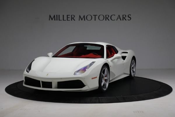 Used 2017 Ferrari 488 Spider for sale Call for price at Alfa Romeo of Greenwich in Greenwich CT 06830 13