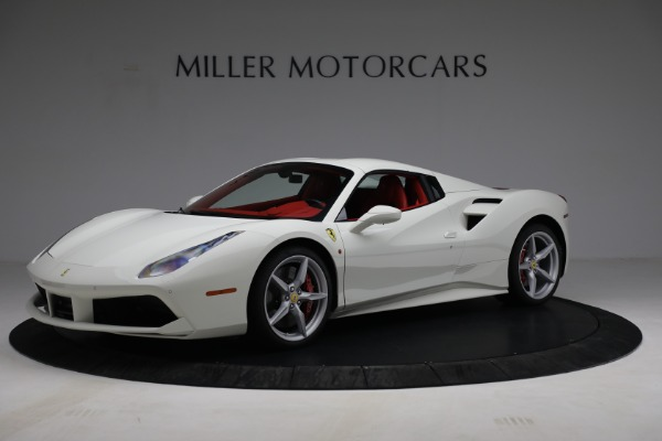 Used 2017 Ferrari 488 Spider for sale Call for price at Alfa Romeo of Greenwich in Greenwich CT 06830 14