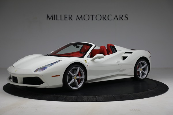 Used 2017 Ferrari 488 Spider for sale Call for price at Alfa Romeo of Greenwich in Greenwich CT 06830 2