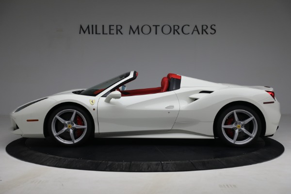 Used 2017 Ferrari 488 Spider for sale Call for price at Alfa Romeo of Greenwich in Greenwich CT 06830 3