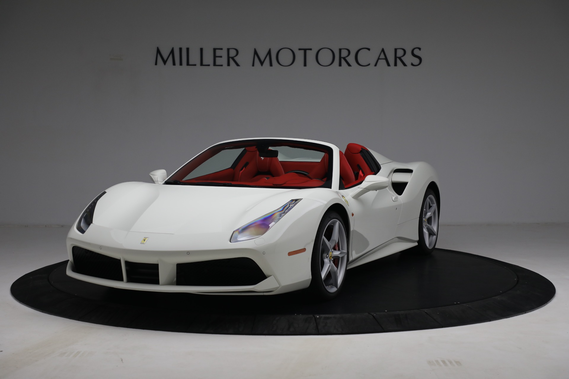 Used 2017 Ferrari 488 Spider for sale Call for price at Alfa Romeo of Greenwich in Greenwich CT 06830 1
