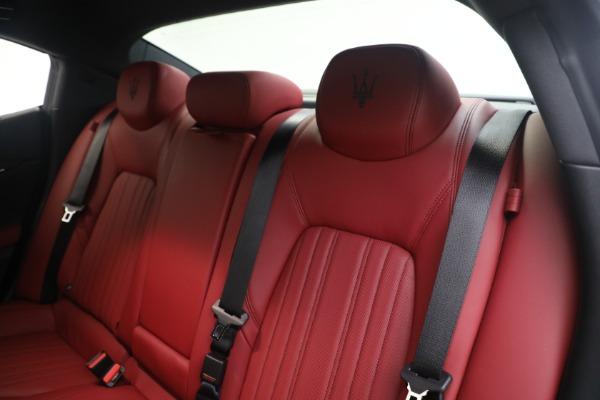 New 2021 Maserati Ghibli SQ4 GranLusso for sale Sold at Alfa Romeo of Greenwich in Greenwich CT 06830 18
