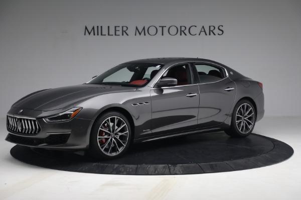 New 2021 Maserati Ghibli SQ4 GranLusso for sale Sold at Alfa Romeo of Greenwich in Greenwich CT 06830 2