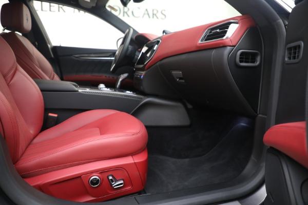 New 2021 Maserati Ghibli SQ4 GranLusso for sale Sold at Alfa Romeo of Greenwich in Greenwich CT 06830 22