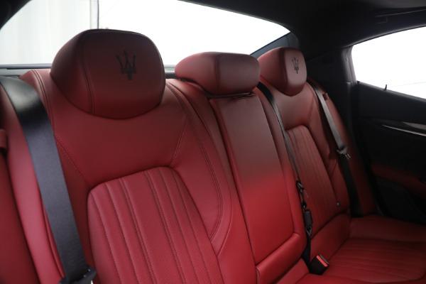New 2021 Maserati Ghibli SQ4 GranLusso for sale Sold at Alfa Romeo of Greenwich in Greenwich CT 06830 24