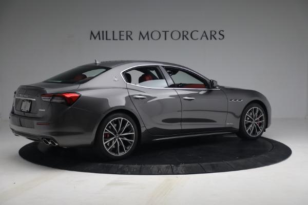 New 2021 Maserati Ghibli SQ4 GranLusso for sale Sold at Alfa Romeo of Greenwich in Greenwich CT 06830 8