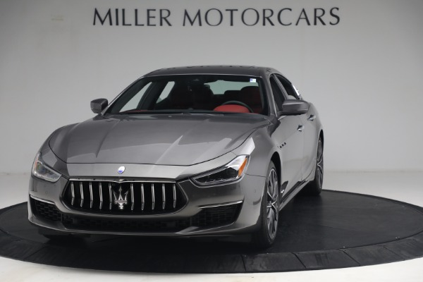 New 2021 Maserati Ghibli SQ4 GranLusso for sale Sold at Alfa Romeo of Greenwich in Greenwich CT 06830 1