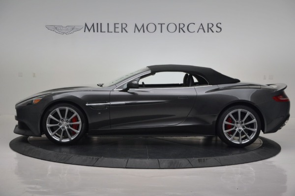 New 2016 Aston Martin Vanquish Volante for sale Sold at Alfa Romeo of Greenwich in Greenwich CT 06830 16