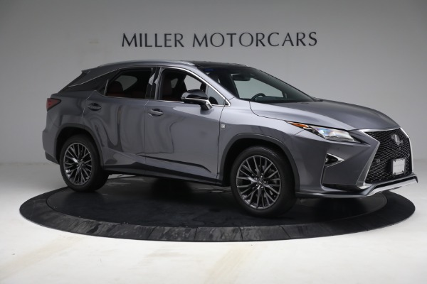 Used 2018 Lexus RX 350 F SPORT for sale $44,900 at Alfa Romeo of Greenwich in Greenwich CT 06830 10