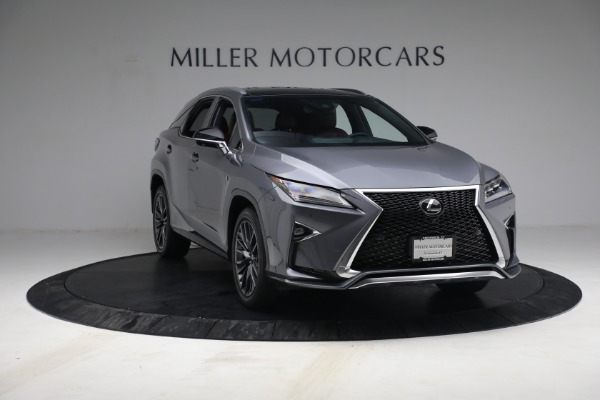Used 2018 Lexus RX 350 F SPORT for sale $44,900 at Alfa Romeo of Greenwich in Greenwich CT 06830 11