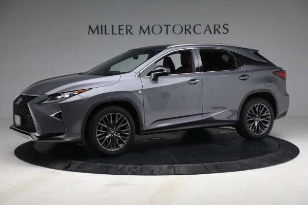 Used 2018 Lexus RX 350 F SPORT for sale $44,900 at Alfa Romeo of Greenwich in Greenwich CT 06830 2