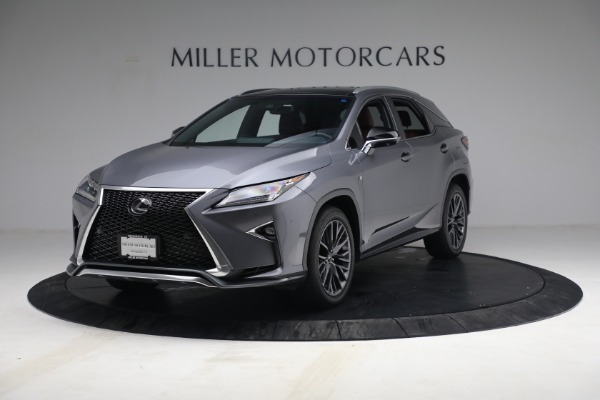 Used 2018 Lexus RX 350 F SPORT for sale $44,900 at Alfa Romeo of Greenwich in Greenwich CT 06830 1