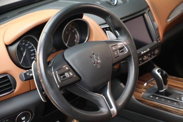 Used 2018 Maserati Levante GranSport for sale Sold at Alfa Romeo of Greenwich in Greenwich CT 06830 17