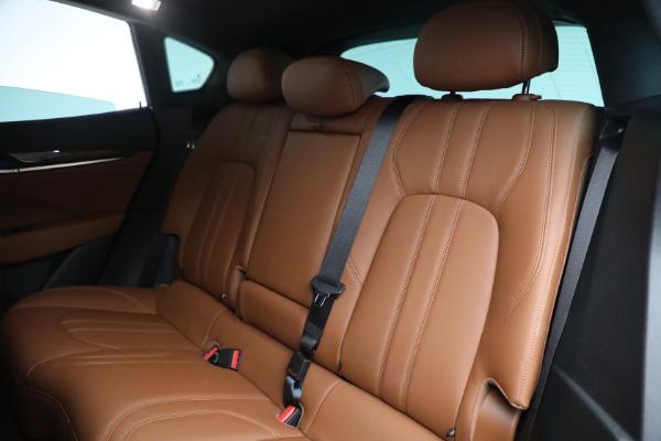 Used 2018 Maserati Levante GranSport for sale Sold at Alfa Romeo of Greenwich in Greenwich CT 06830 23