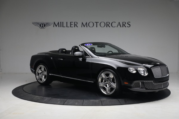 Used 2012 Bentley Continental GTC GT for sale $119,900 at Alfa Romeo of Greenwich in Greenwich CT 06830 10