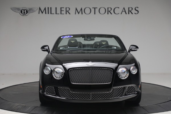 Used 2012 Bentley Continental GTC GT for sale $119,900 at Alfa Romeo of Greenwich in Greenwich CT 06830 11
