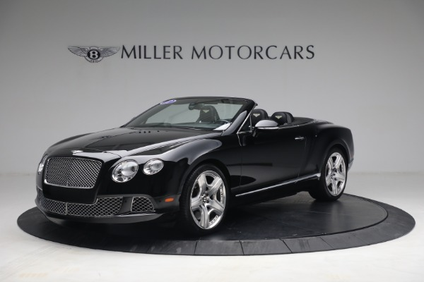 Used 2012 Bentley Continental GTC GT for sale $119,900 at Alfa Romeo of Greenwich in Greenwich CT 06830 1