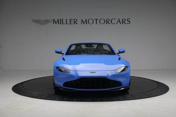 New 2021 Aston Martin Vantage Roadster for sale $186,386 at Alfa Romeo of Greenwich in Greenwich CT 06830 10