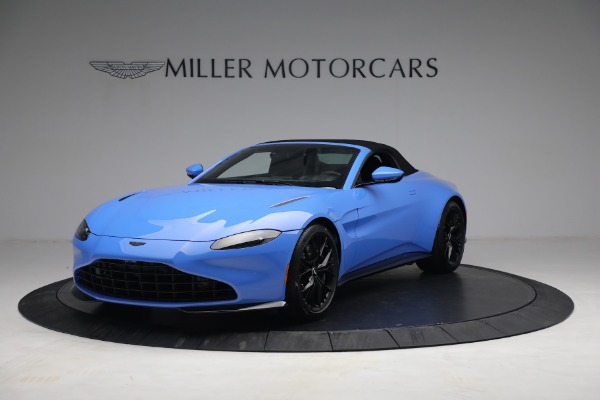 New 2021 Aston Martin Vantage Roadster for sale $186,386 at Alfa Romeo of Greenwich in Greenwich CT 06830 12