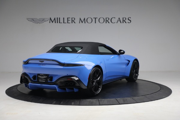 New 2021 Aston Martin Vantage Roadster for sale $186,386 at Alfa Romeo of Greenwich in Greenwich CT 06830 15