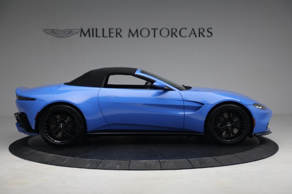 New 2021 Aston Martin Vantage Roadster for sale $186,386 at Alfa Romeo of Greenwich in Greenwich CT 06830 16