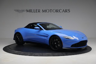 New 2021 Aston Martin Vantage Roadster for sale $186,386 at Alfa Romeo of Greenwich in Greenwich CT 06830 17