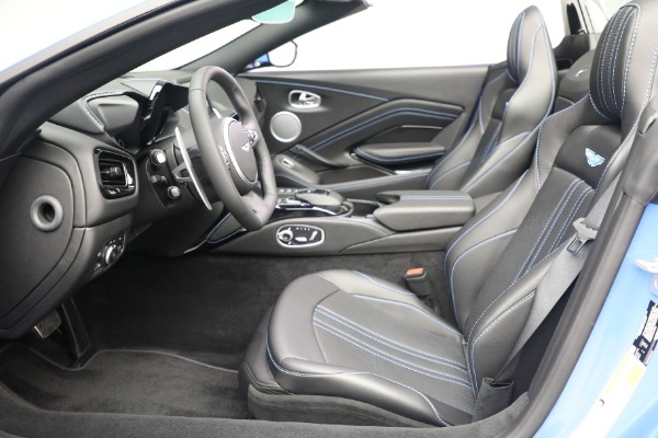 New 2021 Aston Martin Vantage Roadster for sale $186,386 at Alfa Romeo of Greenwich in Greenwich CT 06830 18