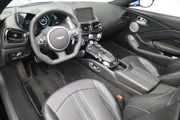 New 2021 Aston Martin Vantage Roadster for sale $186,386 at Alfa Romeo of Greenwich in Greenwich CT 06830 19