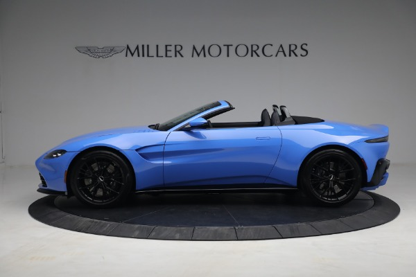 New 2021 Aston Martin Vantage Roadster for sale $186,386 at Alfa Romeo of Greenwich in Greenwich CT 06830 2