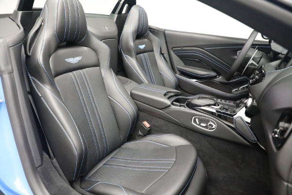 New 2021 Aston Martin Vantage Roadster for sale $186,386 at Alfa Romeo of Greenwich in Greenwich CT 06830 22