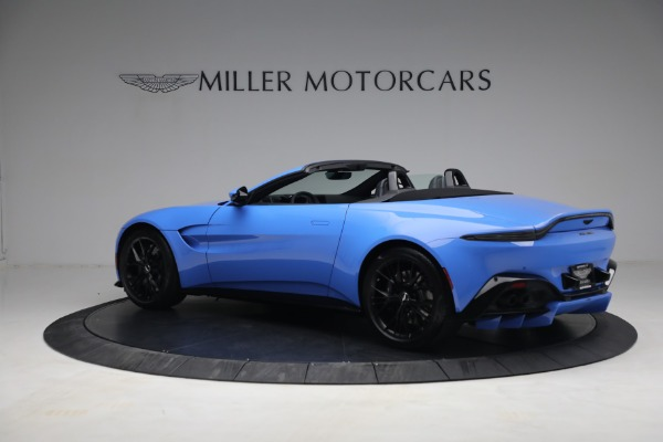 New 2021 Aston Martin Vantage Roadster for sale $186,386 at Alfa Romeo of Greenwich in Greenwich CT 06830 3