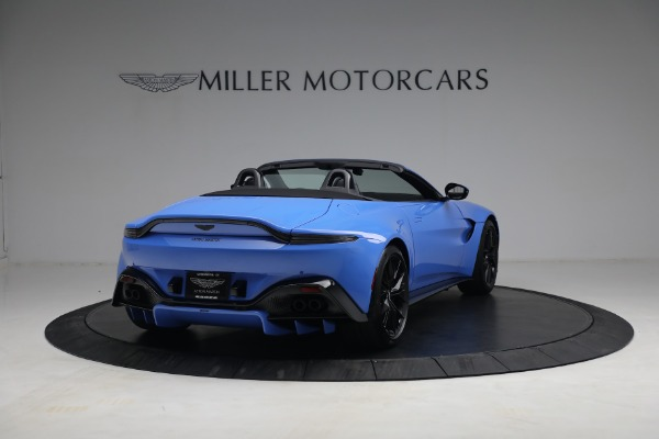 New 2021 Aston Martin Vantage Roadster for sale $186,386 at Alfa Romeo of Greenwich in Greenwich CT 06830 5