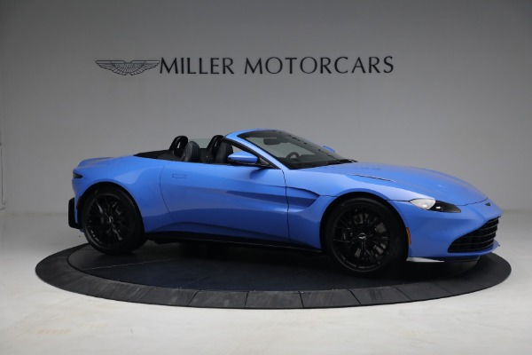 New 2021 Aston Martin Vantage Roadster for sale $186,386 at Alfa Romeo of Greenwich in Greenwich CT 06830 8