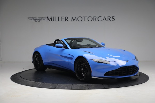 New 2021 Aston Martin Vantage Roadster for sale $186,386 at Alfa Romeo of Greenwich in Greenwich CT 06830 9